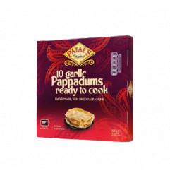 PATAK'S Garlic Pappadums 100GM
