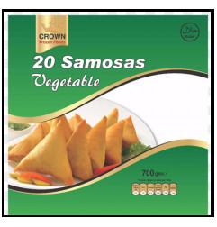 CROWN Samosas Vegetable...