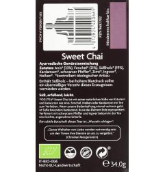 Yogi Tea Sweet Chai, 17...