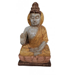 Wooden Budhha
