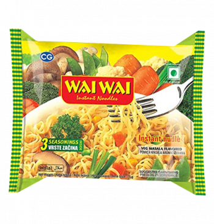 WAI WAI Vegetable Masala...